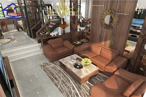 Ý tưởng thiết kế nội thất phòng khách đẹp