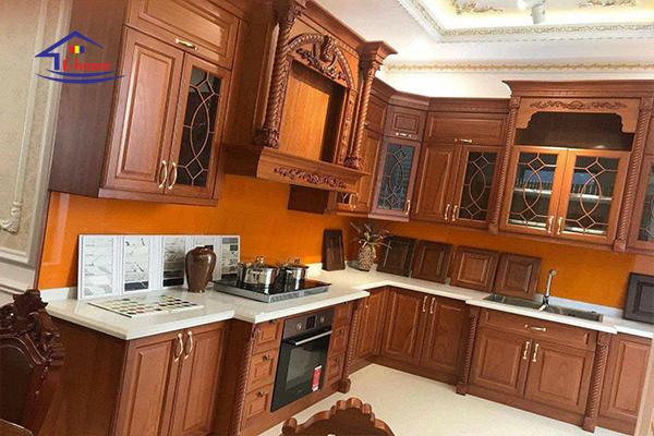 Tủ Bếp Tân Cổ Điển 4