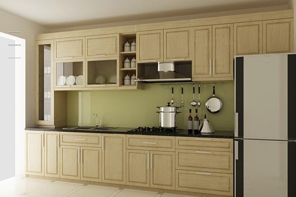 Tủ bếp Sồi Nga SG002