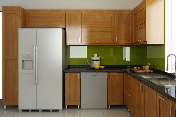 Tủ bếp Sồi Nga SG003
