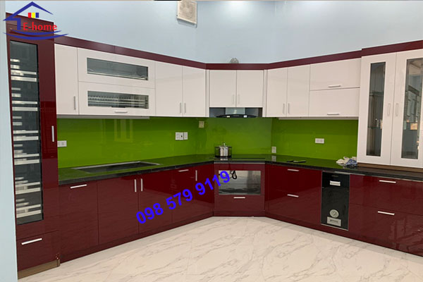 Tủ bếp Inox 14