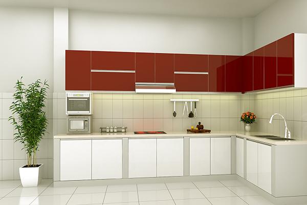 Tủ bếp Acrylic ARL01