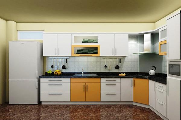Tủ bếp Laminate LMA003